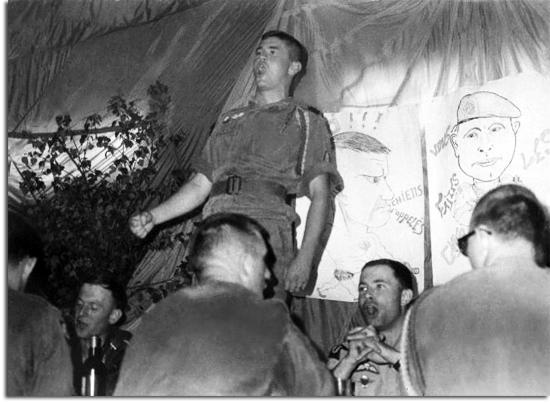 Capitaine Jean-Bernard PINATEL - Soirée de départ du Régiment