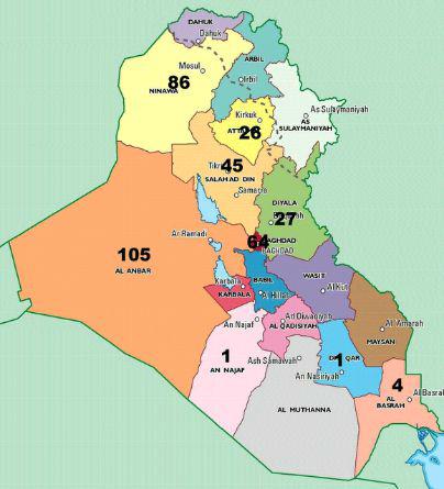 Irak, 15 juin 2015
