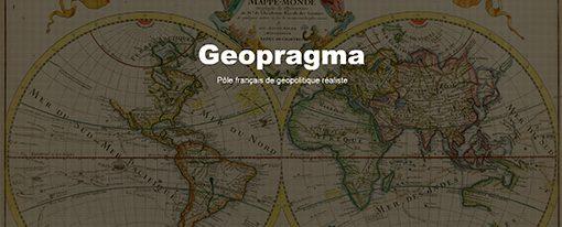 Lancement d'un nouveau Think Tank : Geopragma