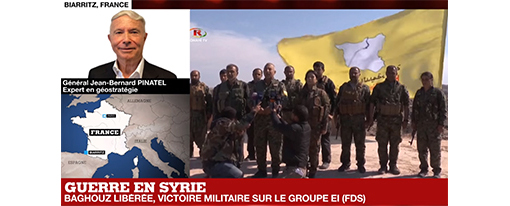 Le califat autoproclamé de l'OEI a été éliminé, annoncent les Forces démocratiques syriennes